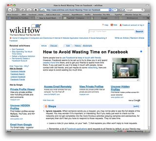 How to Avoid Wasting Time on Facebook